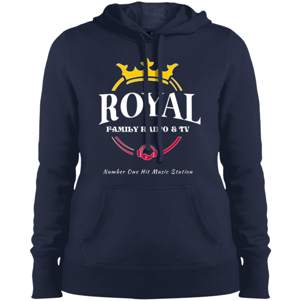 Royal Family Radio Ladies' Pullover Hooded Sweatshirt