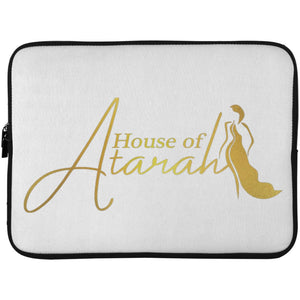 House of Atarah logo House of Atarah Laptop Sleeve - 15 Inch