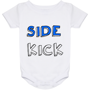 SIDE KICK Onesie 24 Month (SUPER DAD Matching T-Shirt)