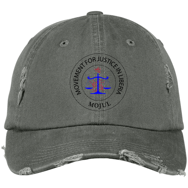 MOJUL Distressed Dad Cap