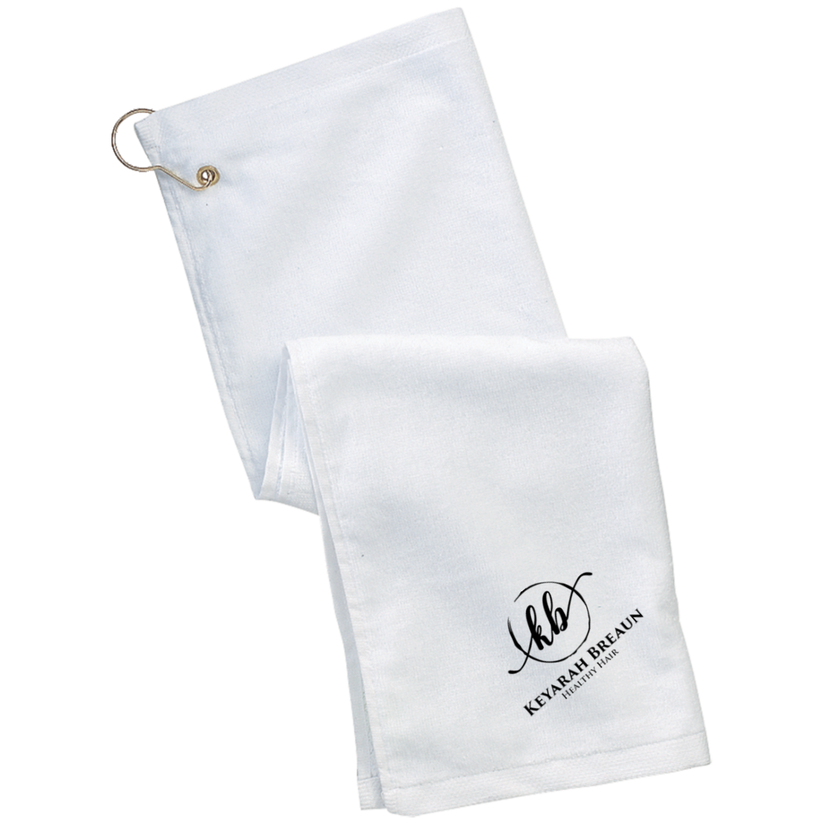 Keyarah Breaun Grommeted Golf Towel