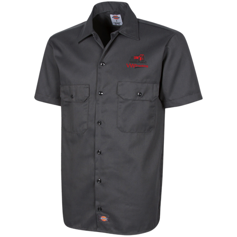 VW TRUCKING Dickies Men's Short Sleeve Workshirt