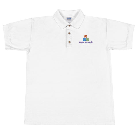 Bella Search Embroidered Polo Shirt