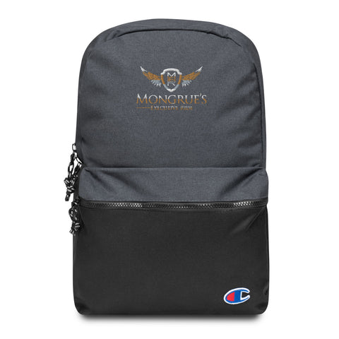 MONGRUE'S Embroidered Champion Backpack