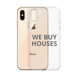 WE BUY HOUSES iPhone Case