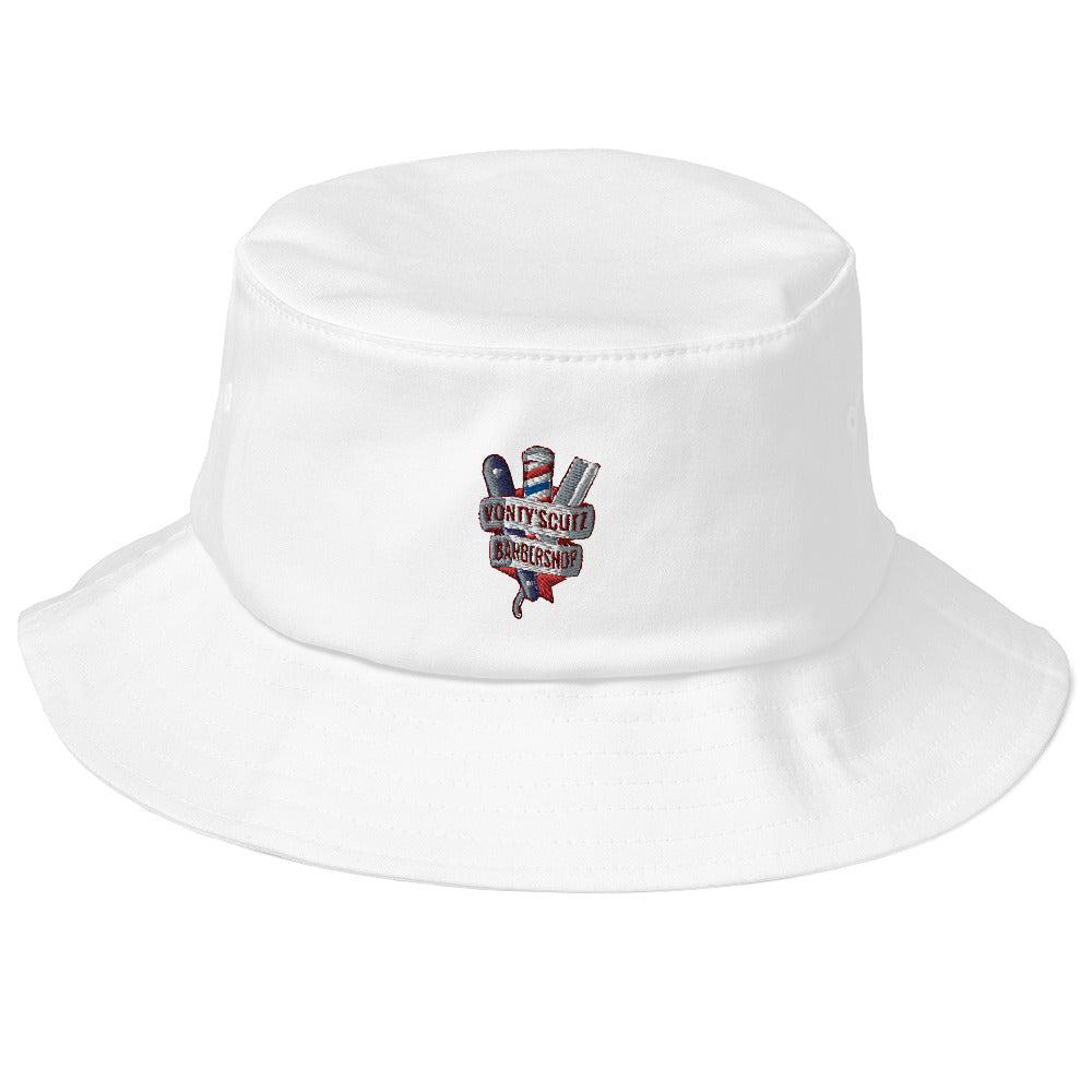 Vonty's Barbershop Old School Bucket Hat