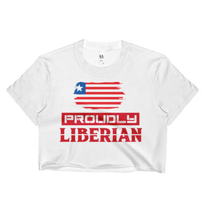 Proudly Liberian Crop Top