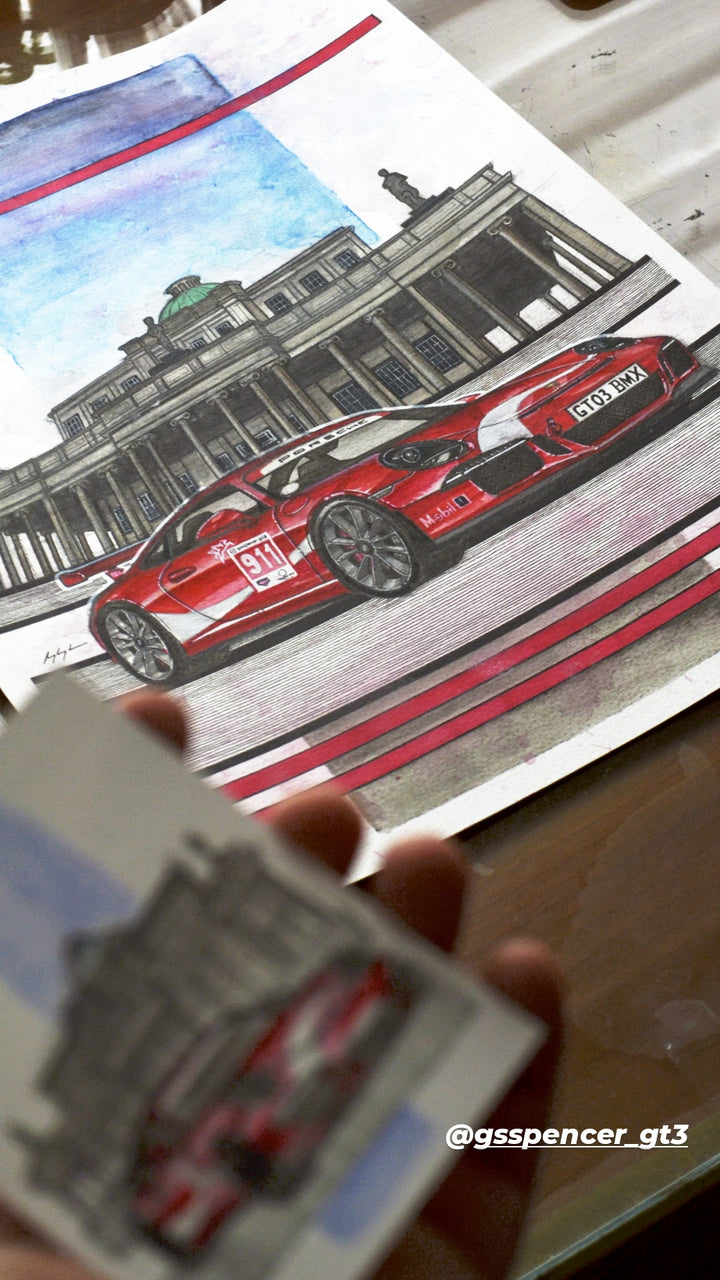 Inspiration from @gsspencer_gt3's GT3/ Handmade Artwork