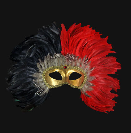 eye_mask_piume_reale_black_red
