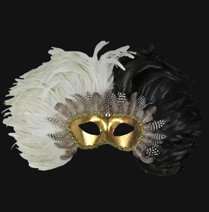 eye_mask_piume_reale_black_white