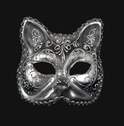 gatto_decor_aria_silver_black