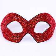 Eye Mask Hero Strass Black Crystal