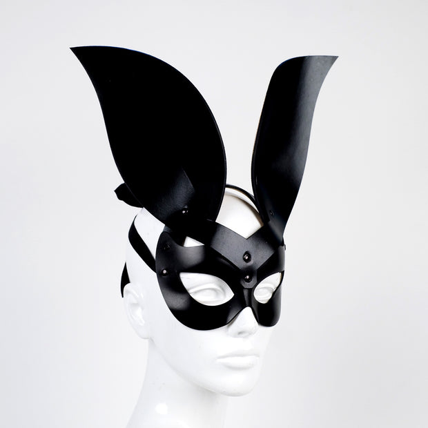 Bunny Mistress Black Leather