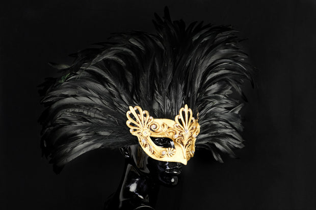 Eye Mask Aria Barocco Royal Feather