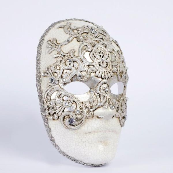 Face Mask Macrame Eyes Wide Shut