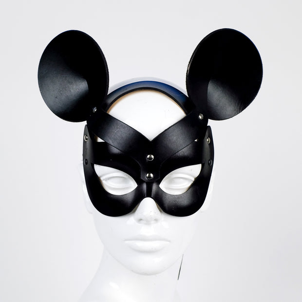 Minnie Mistress Black Leather