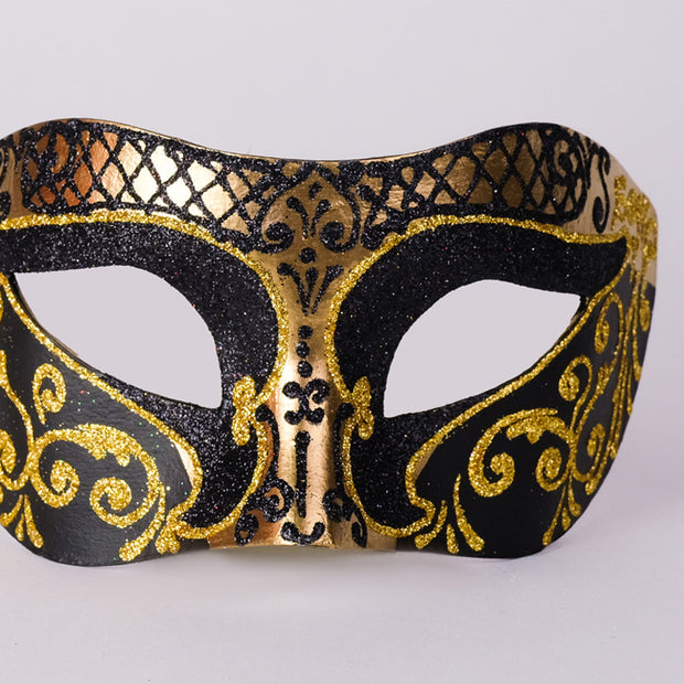Detail eye_mask_settecento_brill_gold_black