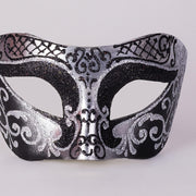 Detail eye_mask_settecento_brill_silver_black