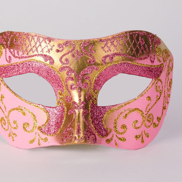 Detail eye_mask_settecento_brill_gold_pink