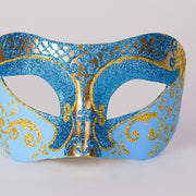 Detail eye_mask_settecento_brill_gold_sky_blue