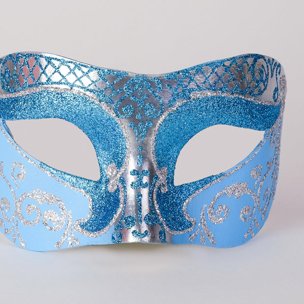 Detail eye_mask_settecento_brill_silver_sky_blue