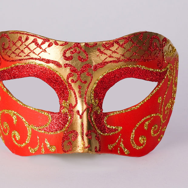 Detail eye_mask_settecento_brill_gold_red