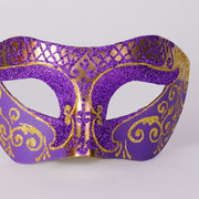 Detail eye_mask_settecento_brill_gold_purple