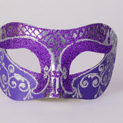 Detail eye_mask_settecento_brill_silver_purple
