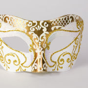 Detail eye_mask_settecento_brill_gold_white