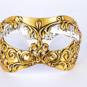 Detail eye_mask_musica_stucchi_gold