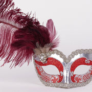 Detail eye_mask_can_can_silver_bordeaux