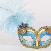 Detail eye_mask_can_can_gold_sky_blue