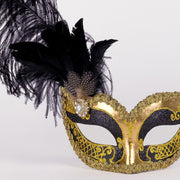 Detail eye_mask_can_can_gold_black