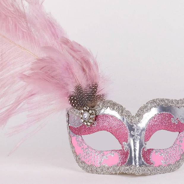 Detail eye_mask_can_can_silver_pink