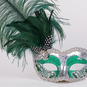 Detail eye_mask_can_can_silver_green