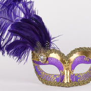 Detail eye_mask_can_can_gold_purple