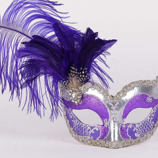 Detail eye_mask_can_can_silver_purple