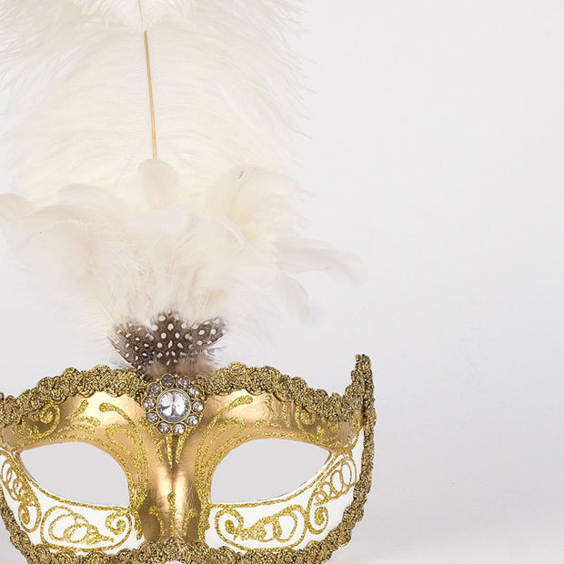 Detail eye_mask_sisi_gold_white