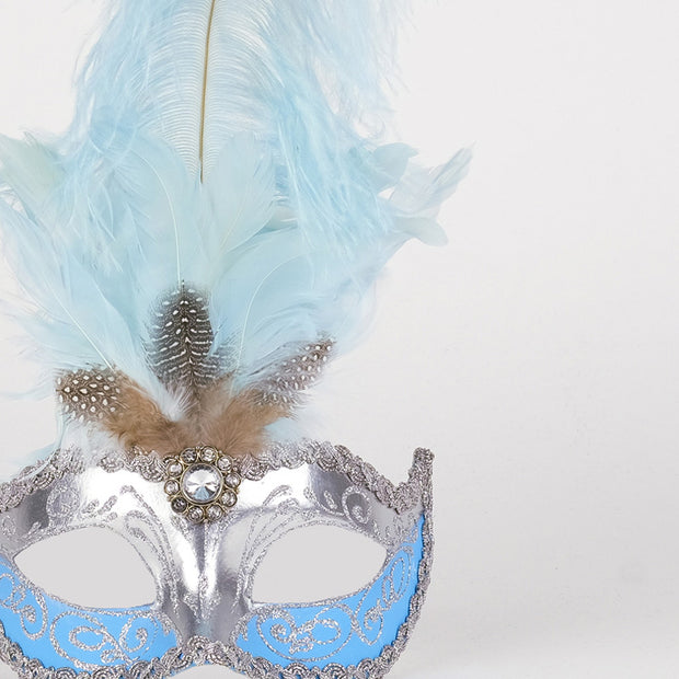 Detail eye_mask_sisi_silver_sky_blue