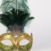 Detail eye_mask_sisi_gold_green