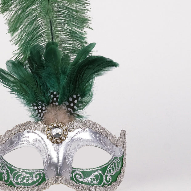 Detail eye_mask_sisi_silver_green