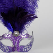 Detail eye_mask_piume_silver_purple