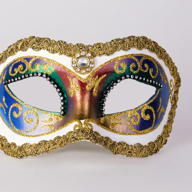 Detail eye_mask_arco_strass_white