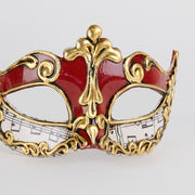 Detail eye_mask_musica_sinfonia_red