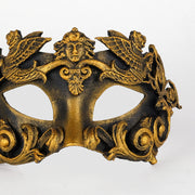 Detail eye_mask_barocco_grifone_bronze