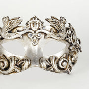 Detail eye_mask_barocco_grifone_silver
