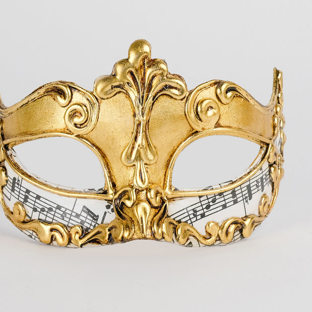 Detail eye_mask_musica_sinfonia_gold