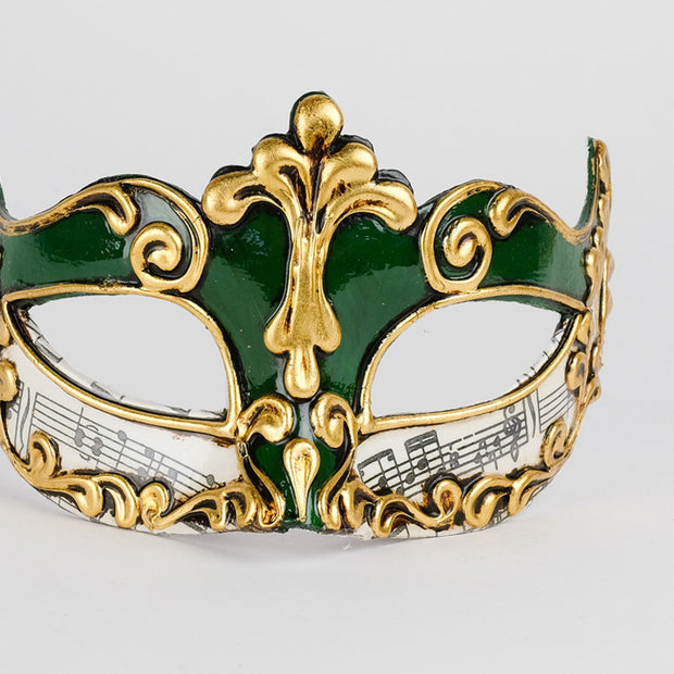 Detail eye_mask_musica_sinfonia_green