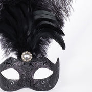 Detail eye_mask_piume_stella_all_black