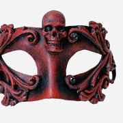Detail eye_mask_barocco_skull_red